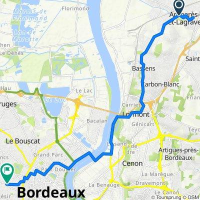De 2 Avenue de l'Europe, Ambarès-et-Lagrave à 90 Rue Victor Hugo, Bordeaux