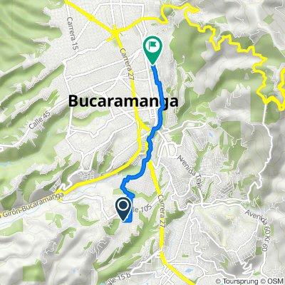 De Calle 110 21-113, Bucaramanga a Carrera 35 # 44-42/50, Bucaramanga