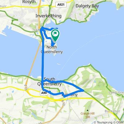 16 Carlingnose Way, Inverkeithing to 17 Carlingnose Way, Inverkeithing