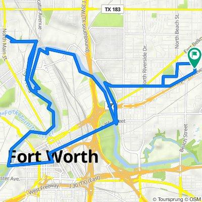 1211 Wayne St, Fort Worth to 1211 Wayne St, Fort Worth