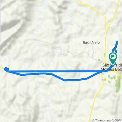 De Rua Rio Pequeno, 2–268, São Luís de Montes Belos a Rua Rio Pequeno, 5, São Luís de Montes Belos