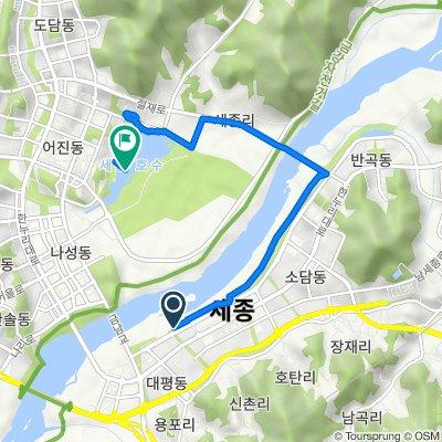 314-21 Boram-dong, Sejong-si to 1201 Sejong-ri, Sejong-si