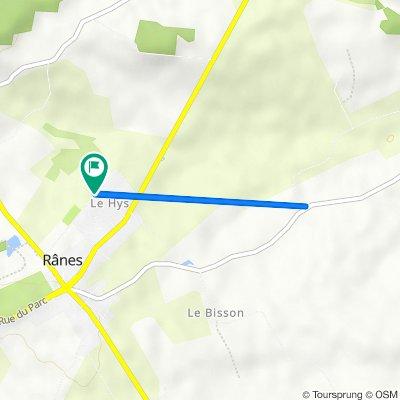 De 9 Rue des Roitelets, Rânes à 9 Rue des Roitelets, Rânes