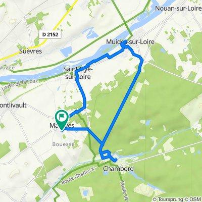 De 8bis Chemin de Bouesse, Maslives à 8 Chemin de Bouesse, Maslives