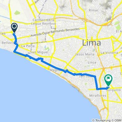 Ruta a San Lorenzo 978, Lima