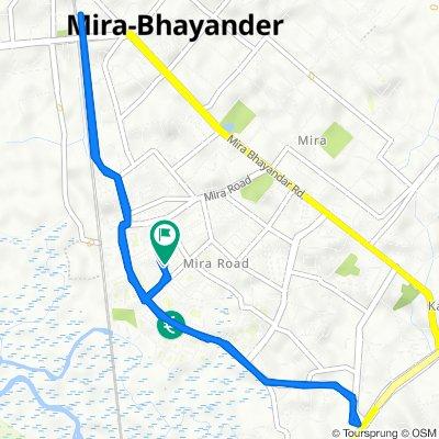 B-49, Shree Nakoda Bhairav Marg, Sector 3, Mira Bhayandar to B-50, Shree Nakoda Bhairav Marg, Sector 3, Mira Bhayandar
