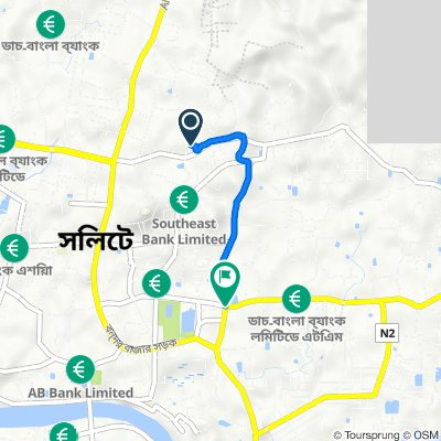 Electric Supply Rd, Sylhet to Kumarpara Road, Sylhet