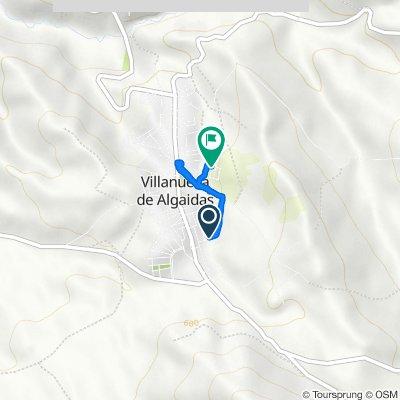 De Arrabal Ur- 10, 53, Villanueva de Algaidas a Arrabal Ur- 11, 4, Villanueva de Algaidas