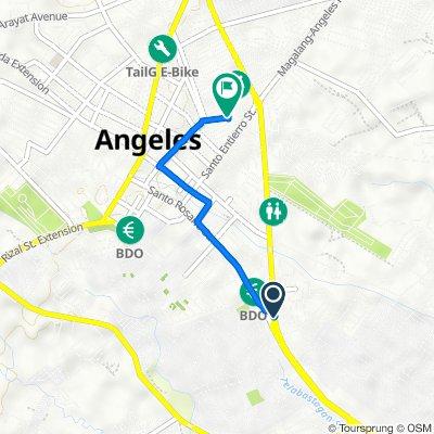 Santo Rosario Street, Angeles to Natividad Street 529, Angeles