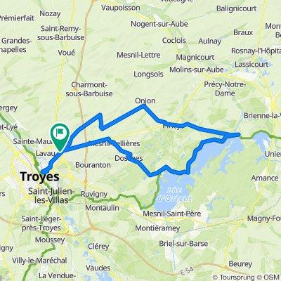 Rue des Saules 1, Creney-prés-Troyes do Rue des Saules 3, Creney-prés-Troyes