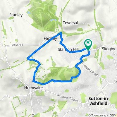 85 Gilcroft St, Sutton-In-Ashfield to 81 Gilcroft St, Sutton-In-Ashfield
