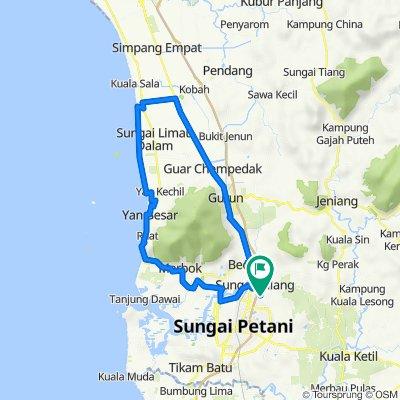 Jalan Melor 2/1 997, Sungai Petani to Jalan Melor 2/1 997, Sungai Petani