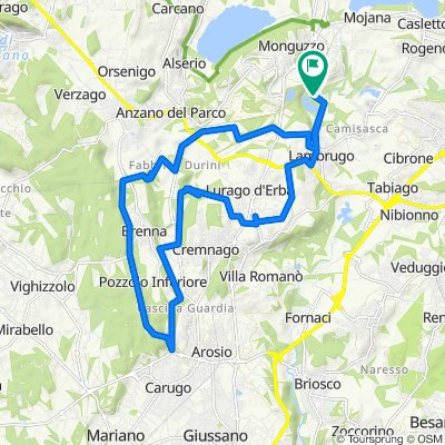De Via Cava Marna 8, Monguzzo à Via Cava Marna 10, Monguzzo