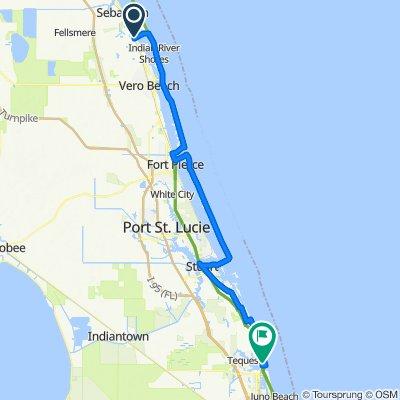 Day 3 Daytona Beach to Key West