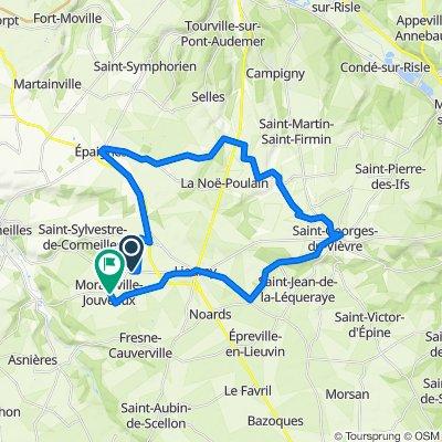 Boucle Epaignes - St Georges