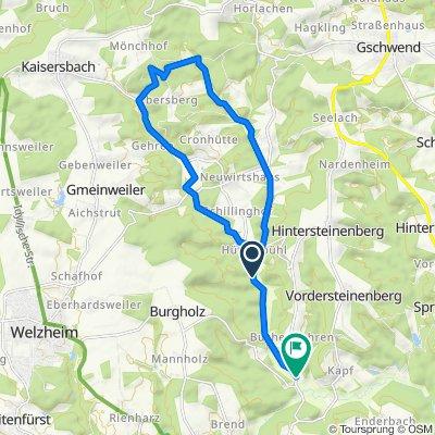 Alfdorf-Menzlmühle-Täle-Rundtour