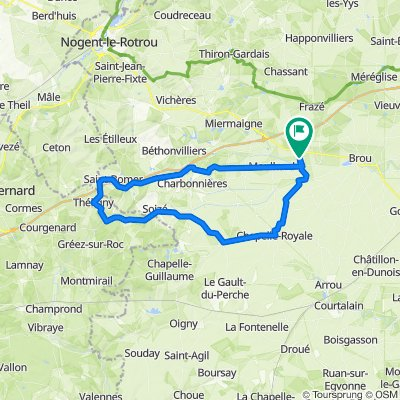 VH-Théligny-la Bazoche gouet-Chapelle Royale-VH