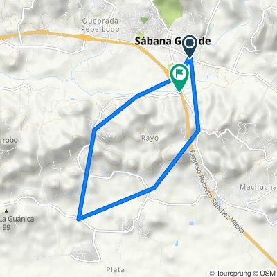 De PR-368, Sabana Grande a PR-2 E, Sabana Grande