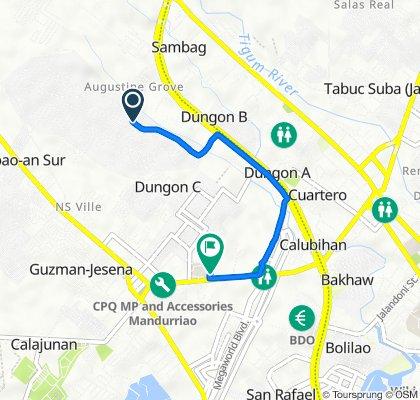 Main Avenue 843, Iloilo City to Q. Abeto Street 50, Iloilo City