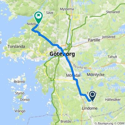 Torkels väg 23, Mölndal to Säve Flygplatsväg 30, Göteborg