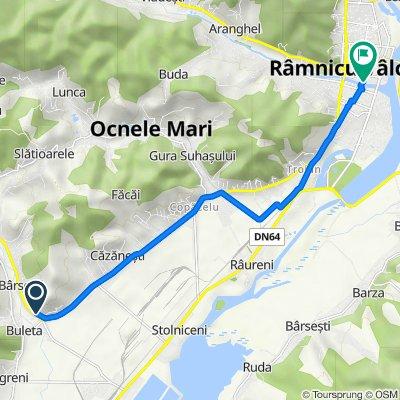 DN67, Buleta to Unnamed Road, Râmnicu Vâlcea