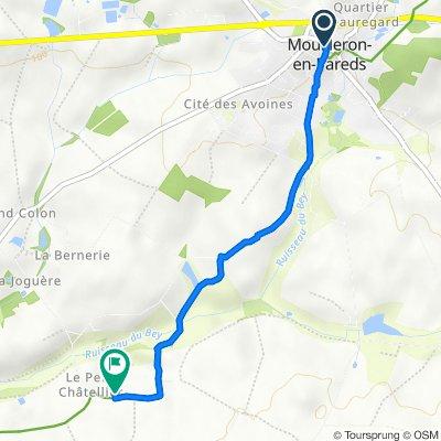 De 1 Rue Clemenceau, Mouilleron-en-Pareds à L'Ogrie, Mouilleron-en-Pareds