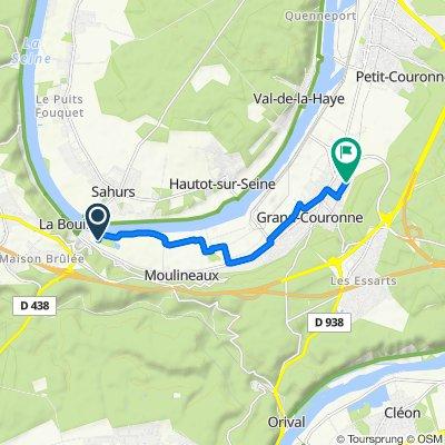 Itinéraire vers 45 Rue des Coquereaux, Grand-Couronne