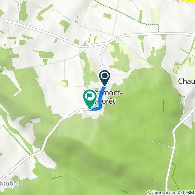De 2–6 Rue de Montubois, Béthemont-la-Forêt à 37bis Rue de Montubois, Béthemont-la-Forêt