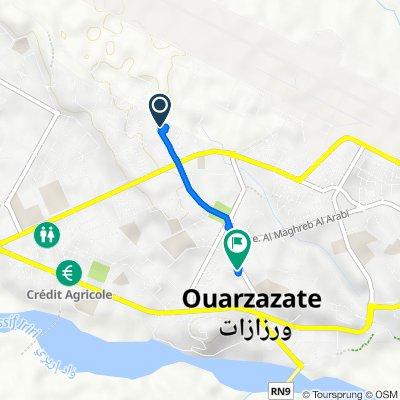 De Maroc, Ouarzazate à Avenue Moulay Rachid 110, Ouarzazate