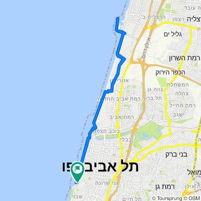 Aharonson Street 7, Tel Aviv-Yafo to Aharonson Street 9, Tel Aviv-Yafo