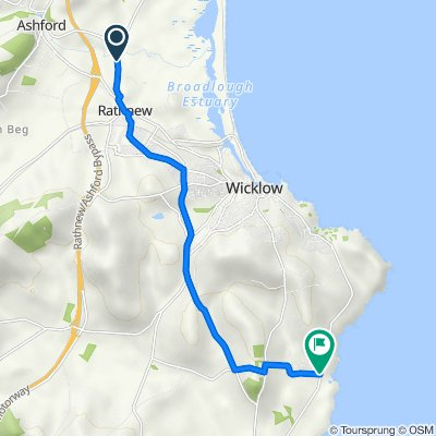 R761, Rathnew to R750, Wicklow
