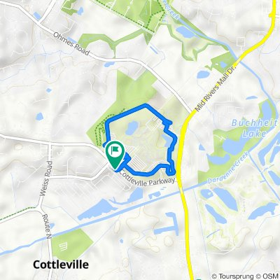 1517 Cottleville Pkwy, Cottleville to 1517 Cottleville Pkwy, Cottleville