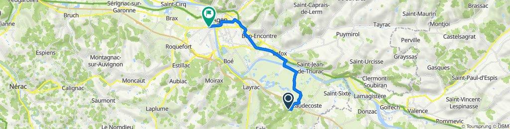 De 51 Lassaoullères, Fals à 44 Avenue de la Marne, Le Passage d'Agen