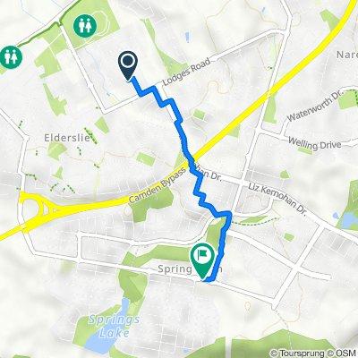 2–22 Weirberly Road, Elderslie to 254 Richardson Road, Spring Farm