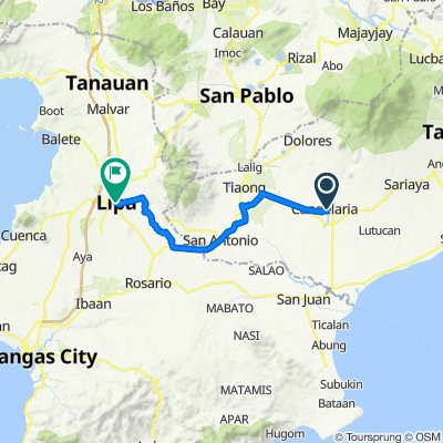 Cabunag St. 005, Candelaria to L Katigbak Street 24-30, Lipa