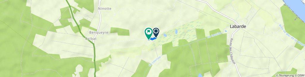 De 6 Route de la Goid de Chavaille, Cantenac à 20 Route de la Goid de Chavaille, Cantenac