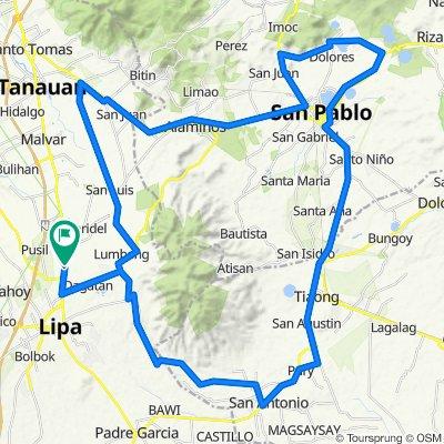 104km lipa-tiaong