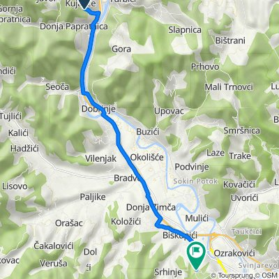 Unnamed Road to Unnamed Road, Visoko