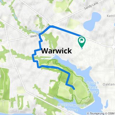 95 Pettis Dr, Warwick to 95 Pettis Dr, Warwick
