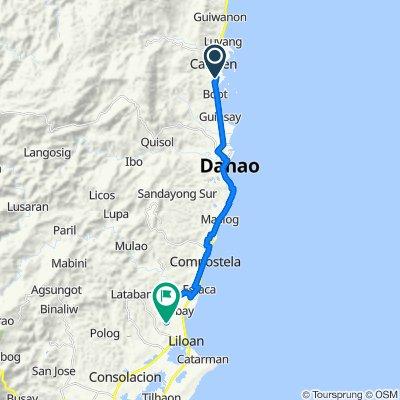 Carmen to Unnamed Road, Liloan