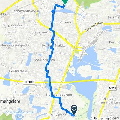 Kanchipuram, Chennai to Chennai