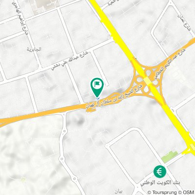 Sheikh Zayed Bin Soltan Al Nahyan Road, Jabriya to Sheikh Zayed Bin Soltan Al Nahyan Road, Jabriya