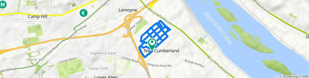 809 Linwood St, New Cumberland to 809 Linwood St, New Cumberland