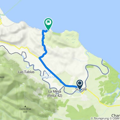 De 36, Sixaola a 256, Punta Uva