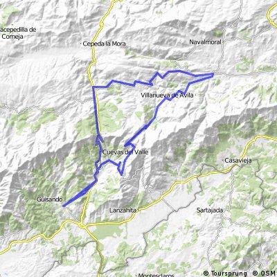 Arenas de San Pedro-El Pico-Burgohondo-Serranillos
