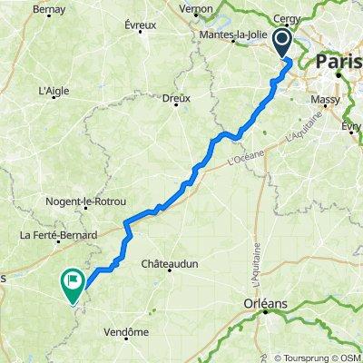 Paris-Le Mans