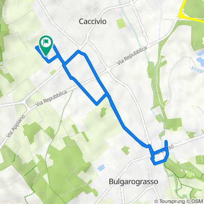 Via Luigi Pirandello 8/A, Lurate Caccivio to Via Luigi Pirandello 8, Lurate Caccivio