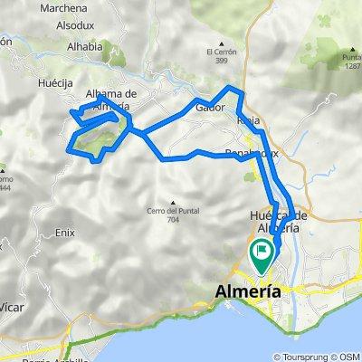 Almería- Media maratón de Alhama de Almería+ Piedra Lisa