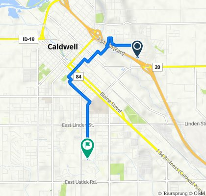 2911 S Florida Ave, Caldwell to 3409 College Ave, Caldwell