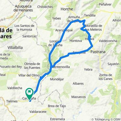 De Av.Tielmes-Santa Lucía, Carabaña a Diseminado Camino de la Jarrada 1, Carabaña